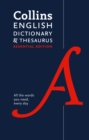 English Dictionary and Thesaurus Essential : All the Words You Need, Every Day - Book