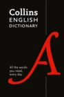 Collins English Dictionary Essential : All the Words You Need, Every Day - Book