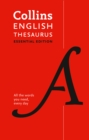 English Thesaurus Essential : All the Words You Need, Every Day - Book