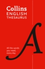 Collins English Thesaurus Essential : All the Words You Need, Every Day - Book