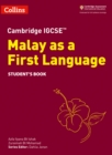 Cambridge IGCSE (TM) Malay as a First Language Student's Book - Book