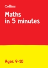 Letts Maths in 5 Minutes a Day Age 9-10 - Book