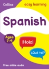 Spanish Ages 7-9 - Book