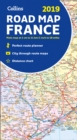 2019 Collins Map of France - Book