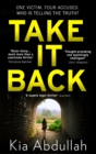 Take It Back - Book