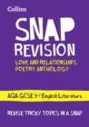 Love & Relationships Poetry Anthology: New GCSE Grade 9-1 AQA English Literature - Book