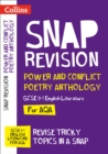 AQA Poetry Anthology Power and Conflict Revision Guide : For the 2022 Exams - Book