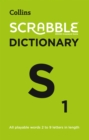 Collins Scrabble Dictionary : The Official Scrabble Solver - All Playable Words 2 - 9 Letters in Length - Book