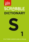Collins Scrabble Dictionary Gem Edition : The Words to Play on the Go - Book