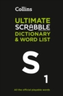 Collins Ultimate Scrabble Dictionary and Word List : All the Official Playable Words, Plus Tips and Strategy - Book