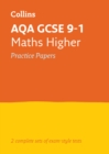 AQA GCSE 9-1 Maths Higher Practice Test Papers - Book
