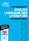 Grade 9-1 GCSE English Language and English Literature WJEC Eduqas Practice Test Papers - Book