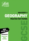 Grade 9-1 GCSE Geography AQA Practice Test Papers - Book
