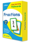 Fractions Flashcards - Book