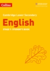 Lower Secondary English Student's Book: Stage 7 - Book