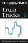 The Times Train Tracks Book 2 : 200 Challenging Visual Logic Puzzles - Book