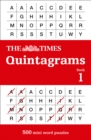 The Times Quintagrams : 500 Mini Word Puzzles - Book