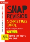 A Christmas Carol: Edexcel GCSE 9-1 English Literature Text Guide : For the 2022 Exams - Book
