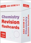 AQA GCSE 9-1 Chemistry Revision Cards : Ideal for Home Learning, 2021 Assessments and 2022 Exams - Book