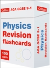 AQA GCSE 9-1 Physics Revision Cards : Ideal for Home Learning, 2021 Assessments and 2022 Exams - Book