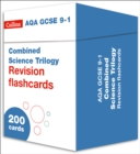 NEW 9-1 GCSE Combined Science AQA Revision Question Cards : Biology, Chemistry & Physics - Book
