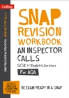 An Inspector Calls: AQA GCSE 9-1 English Literature Workbook : For the 2022 Exams - Book