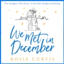 We Met in December - eAudiobook
