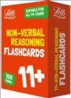 11+ Non-Verbal Reasoning Flashcards - Book