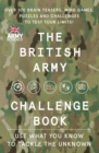 The British Army Challenge Book : The Must-Have Puzzle Book for This Christmas! - Book