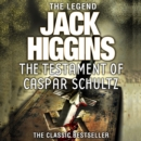 The Testament of Caspar Schultz - eAudiobook