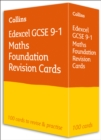 Edexcel GCSE 9-1 Maths Foundation Revision Cards : Ideal for Home Learning, 2021 Assessments and 2022 Exams - Book