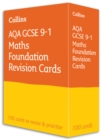 AQA GCSE 9-1 Maths Foundation Revision Cards : Ideal for Home Learning, 2021 Assessments and 2022 Exams - Book