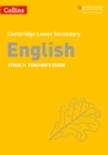 Lower Secondary English Teacher's Guide: Stage 7 - Book