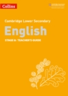 Lower Secondary English Teacher's Guide: Stage 8 - Book