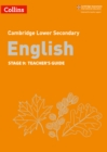 Lower Secondary English Teacher's Guide: Stage 9 - Book