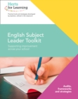 English Subject Leaders Toolkit - Book