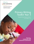 Primary Writing Year 3 - Book