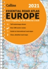 Road Atlas Europe 2021 Essential : A4 Spiral - Book