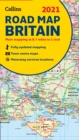 Map of Britain 2021 : Folded Road Map - Book
