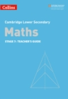 Lower Secondary Maths Teacher's Guide: Stage 7 - Book