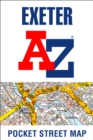 Exeter A-Z Pocket Street Map - Book