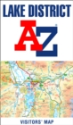 Lake District A-Z Visitors' Map - Book