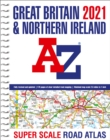 Great Britain A-Z Super Scale Road Atlas 2021 (A3 Spiral) - Book