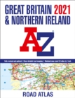 Great Britain A-Z Road Atlas 2021 (A3 Paperback) - Book