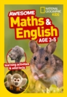 Awesome Maths and English Age 3-5 - Book