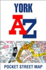 York A-Z Pocket Street Map - Book