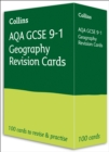 AQA GCSE 9-1 Geography Revision Cards : Ideal for Home Learning, 2021 Assessments and 2022 Exams - Book