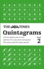 The Times Quintagrams Book 2 : 500 Mini Word Puzzles - Book
