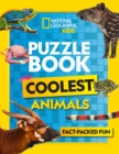 Puzzle Book Coolest Animals : Brain-Tickling Quizzes, Sudokus, Crosswords and Wordsearches - Book