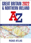Great Britain A-Z Road Atlas 2022 (A3 Paperback) - Book